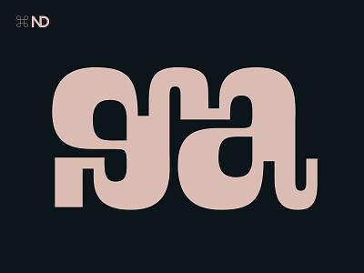 Gaga font type typedesign