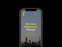 Fitzroys Mobile UI
