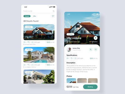 Rental Housing And Villa uiux uiuxdesign