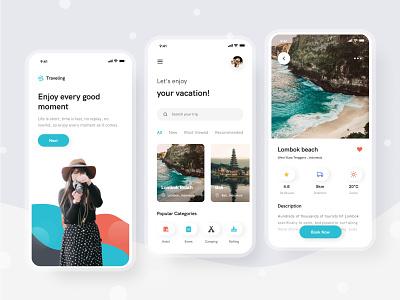 Travel App travel design uiuxdesign uiux
