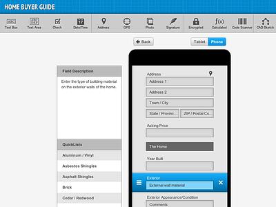 FormMobi Form Builder ui ux webapp