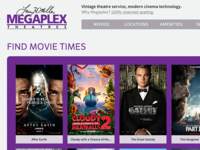 Movie Theater Homepage