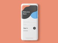 App Login Page uxdesign ui design uiux application branding design app designers mobile app design mobile app mobile ui login design login screen login page app development app designer app design app ux ui