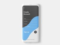 Sign up page digital design application mobile app design mobile app app developer app development company app development app designer app design app ui ux