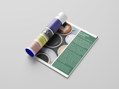 GIDON Magazine 06 typography magazine cover magazine text branding design