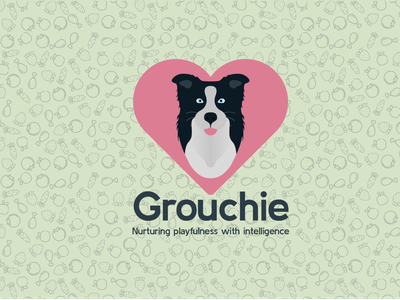 Grouchies -  Logo vector details typography illustration design branding