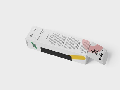 S.M.A.K. - Packaging Dopper 02 packaging dopper product design products icon details vector minimal logo typography illustration branding design