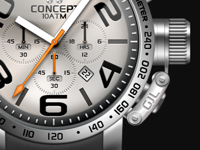 Concept Watch clock watch time concept design 2011 icon