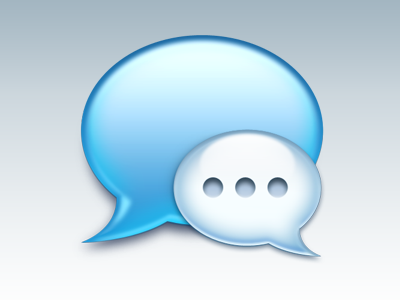 Messages Icon apple icon messages replacement dock photoshop 2012