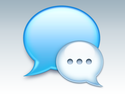 Messages Icon (Update) icon messages imessage replacement photoshop 2012