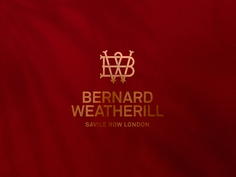 Bernard Weatherill logomark and logotype lockup