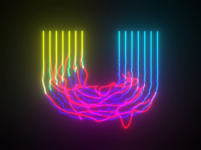 36 Days of Type - U animation loop particular after effects 36 days of type 36daysoftype