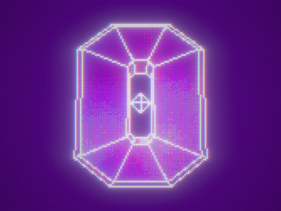 36 Days of Type - 0 video game retro crt pixel after effects pixdither c4d cinema 4d loop animation 3d 36 days of type 36daysoftype