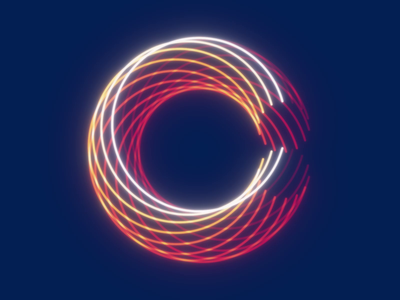 36 Days of Type 2021 - C colorama echo after effects loop animation 36 days of type 36daysoftype