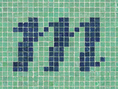 36 Days of Type 2021 - M tile 36daysoftype 36 days of type