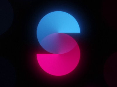 36 Days of Type 2021 - S echo 80s 70s retro after effects loop animation 36daysoftype 36 days of type