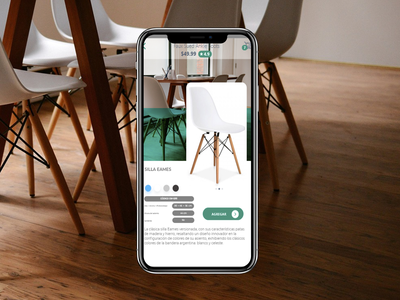 Prototype a ecommerce at furniture app ui ecommerce mobile ui ux