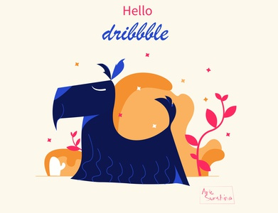 My little DREAM!  Scotch terrier! hellodribbble postcard vector illustration freelance design