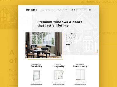 Landing Page Exploration website clean simple identity branding ui landing