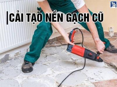 Cải tạo nền gạch cũ bằng 4 cách [TIỂU KIỆM] và [ĐƠN GIẢN] caitaosannhacu caitaonengachcu gachmosaicinfo