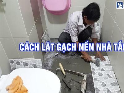 Cách lát gạch nền nhà tắm [Như Thế Nào Chuẩn?] cachlatgachnennhatam gachmosaicinfo