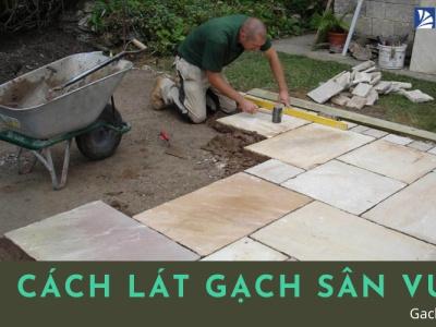 Cách lát gạch sân vườn ĐẸP - BÊN [BẠN NÊN XEM NGAY] sanvuondep latgachsanvuon cachlatgachsanvuon gachmosaicinfo