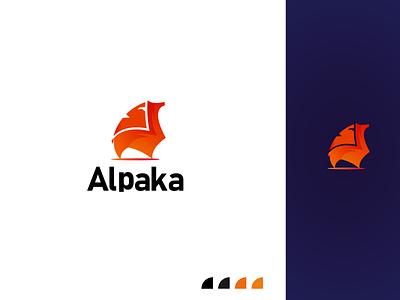 modern alpaca logo modern animals logo logo design idea brabd 3d animation graphic design design illustration minimalist logodesign letter logo branding logos logo logo design colorful logo animals logo modern alpaca logo