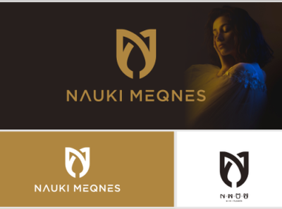 INITIAL NM (NAUKI MEQNES) icon graphic fitness fashion choacing modern beauty flat motion graphics graphic design luxury vector logo illustration design creative branding brand app abstract