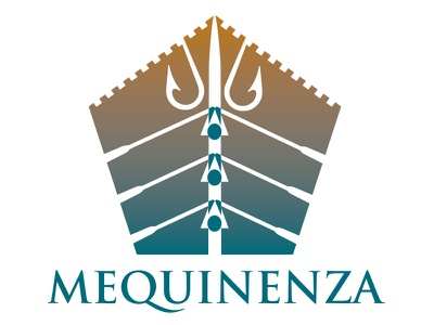Mequinenza logo icon town council sports castle mark identity fishing rowing spanish designer brand