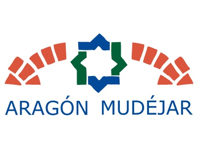 Aragon Mudejar logo icon anagrama mudejar identity mark brand identity graphic design brick