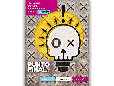 PUNTO FINAL POSTER agencia diseño cartel death poster design