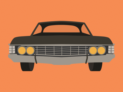 Impala impala cars illustration