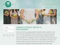 Jade Pierce Photography Website