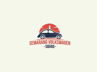 Semarang Volkswagen Squad Logo Project illustration car logo logodesigns logo design branding logodesign companylogo design company branding logo graphic design