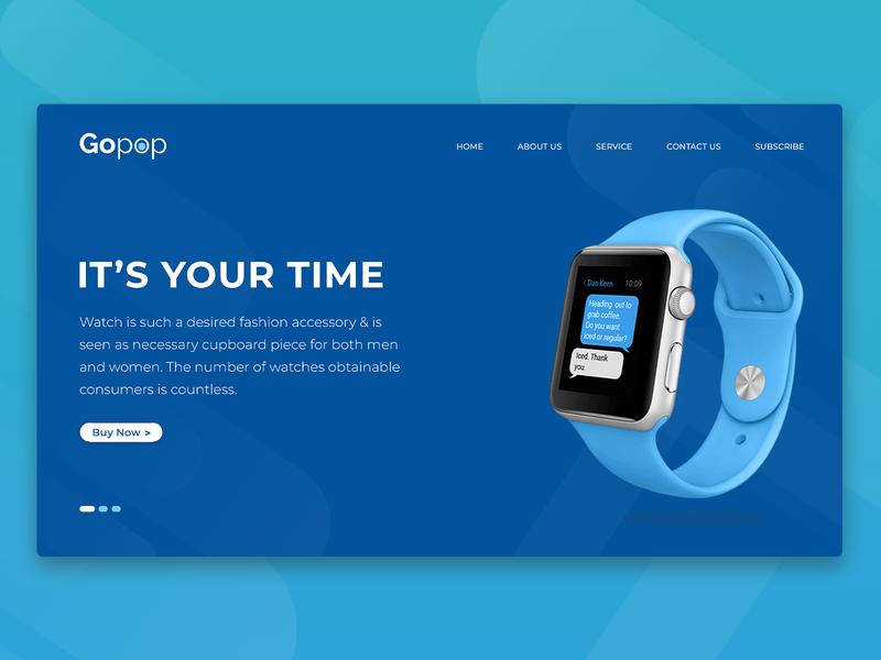 Gopop Landing Page webdeisgn graphicdesign ads design ui design homepage design landing page