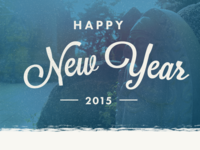 New Year Dribbble