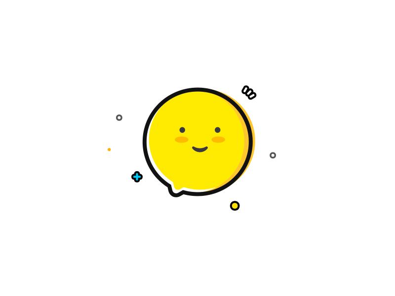 just for fun  stroke coarse emoji message illustrations