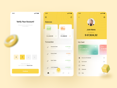 Banking App money wallet app wallet finance app finance banking app banking bank ios minimalist mobile design mobile app app design clean ux ui