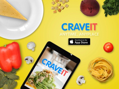 CraveIt - App idea currently in the works. mobiledesign interactivedesign appdesign uiux artdirection