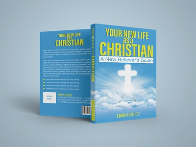 Christian Book Cover christian book cover photoshop minimal typography illustration design book cover