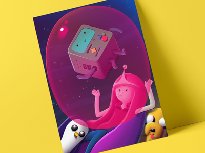 Princess Bubblegum character bubblegum princess ipad forfun lightboxexpo procreate app procreate illustration adventuretime