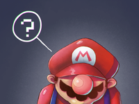 thinking Mario Bros