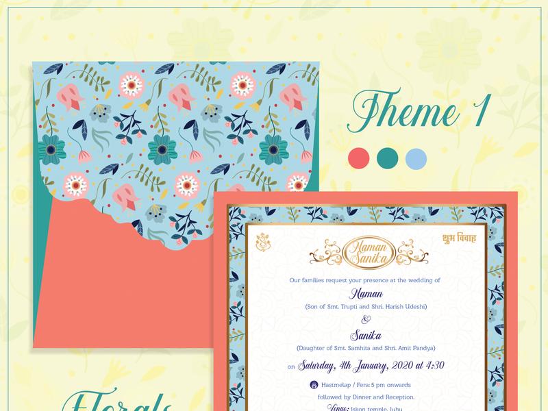 Wedding Card Design 2