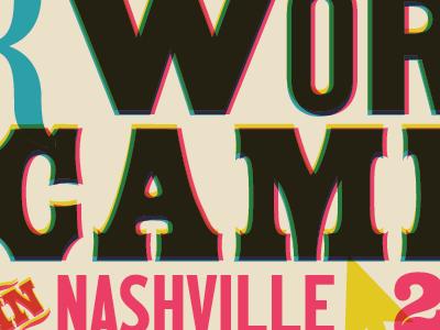 WordCamp Nashville 2016 identity branding conference wordpress cymk wordcamp