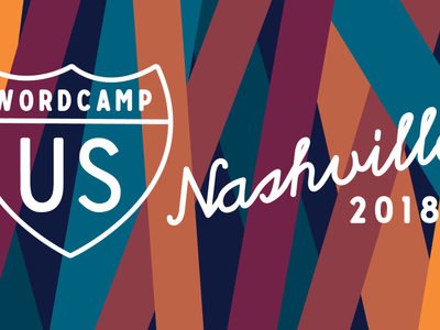 WordCamp US Nashville 2018 illustration logo wordcamp