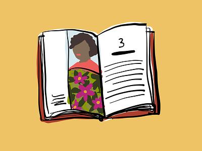 Book vector doodle sketch illustration book