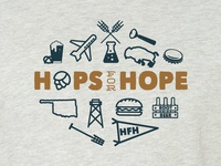 Hops For Hope Shirt 2017