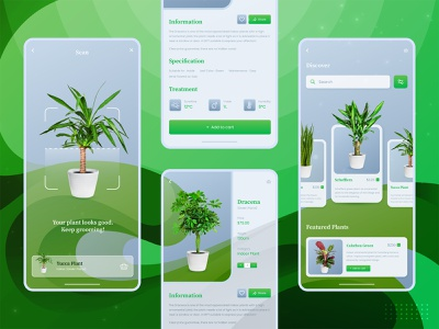 Plant Market Mobile App UX UI Design apps screen design app ui mobile design app designer app inspiration app design ideas mobile app ui mobile app ui minimal mobile mobile apps design ui  ux uiux uxui design app interface mobile application mobile apps mobile app design