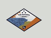 Hawksbill Crag Badge
