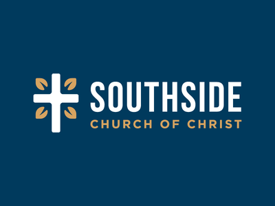 Southside Church of Christ cross church logo